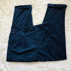 Izod Navy Blue Dress Pants 36x30 NWT E10